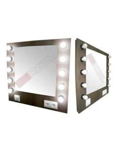 Espejo Estética con 10 bombillas