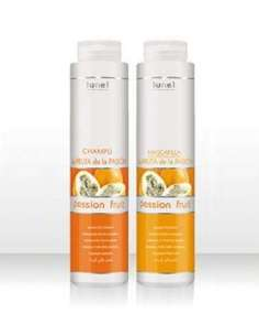 Lunel Champu 400ml + Mascarilla 400ml. frutas