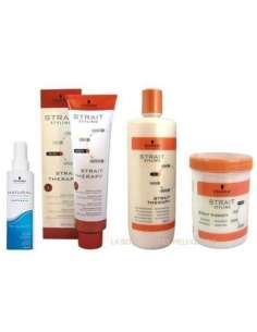 Schwarzkopf Strait Therapy x 4 productos