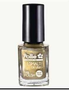 Pollié esmalte de uñas dorado purpura 12 ml