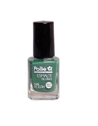 Pollié esmalte de uñas verde bosque pastel 12 ml