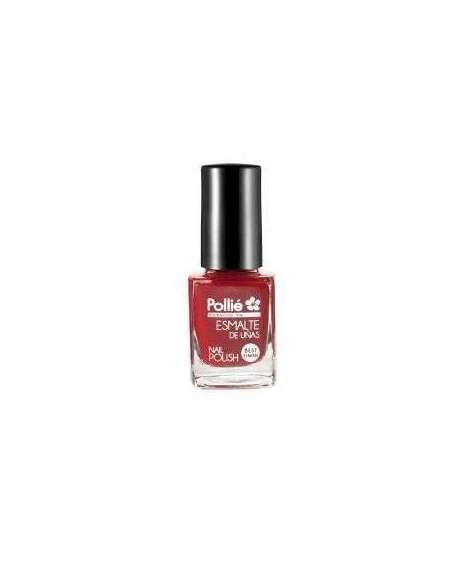 Esmalte de uñas rojo cereza