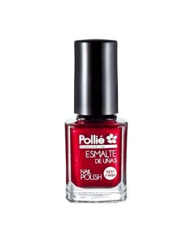 Pollié esmalte de uñas rojo metal 12 ml