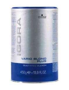 Schwarzkopf igora decoloracion vario blond plus azul 450 gr