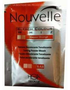 Nouvelle polvo decolorante fire red 25 g