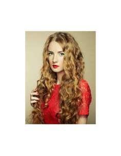 Extensión cabello 100% natural tejido rizado (100 gr x 100 cm de ancho)