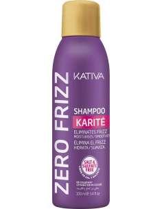 Kativa - Champú Zero Frizz Karité 250 ml.