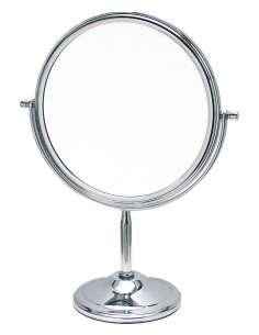 Espejo pie metálico 19 cm aumento 5