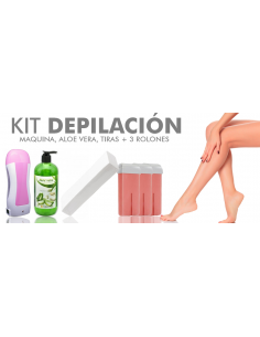 KIT DEPILACIÓN ROLL-ON