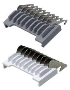 Moser Peine Metálico Deslizable Wahl 0.5 1.5 mm + 1.5 4.5 mm