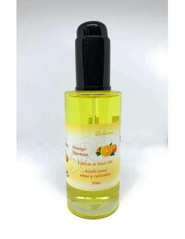 Aceite uñas y cutículas de naranja 70 ml