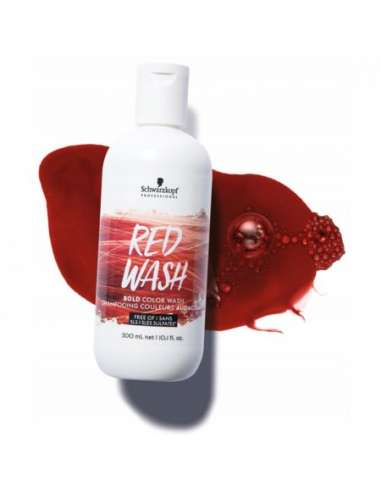 SCHWARZKOPF BOLD COLOR WASHES RED...