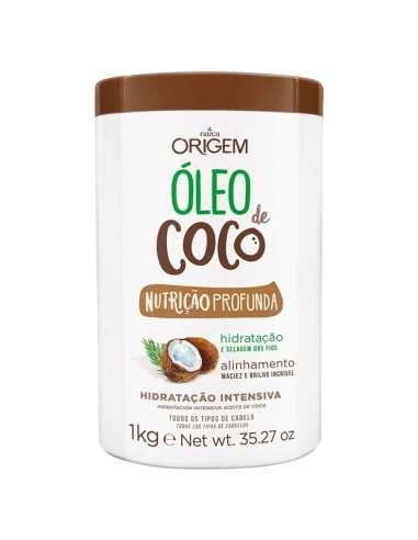 Mascarilla Hidratante Aceite de Coco...