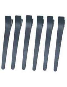 Hair clip negro x 12 uds.