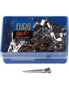Caja 120 pinzas metal