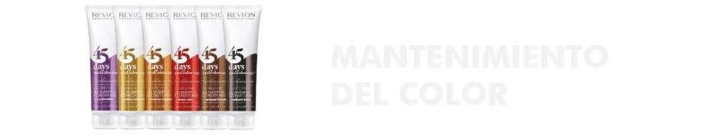 MANTENIMIENTO DEL COLOR