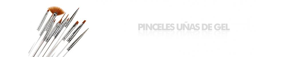PINCELES UÑAS DE GEL