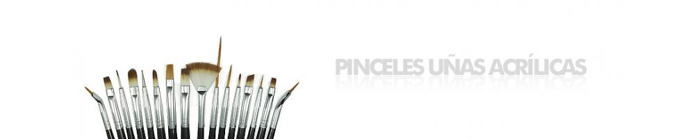 PINCELES UÑAS ACRÍLICAS